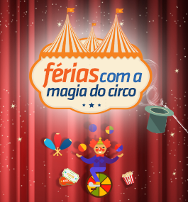 Circo do Marcos Frota é atração no Shopping Costa Dourada