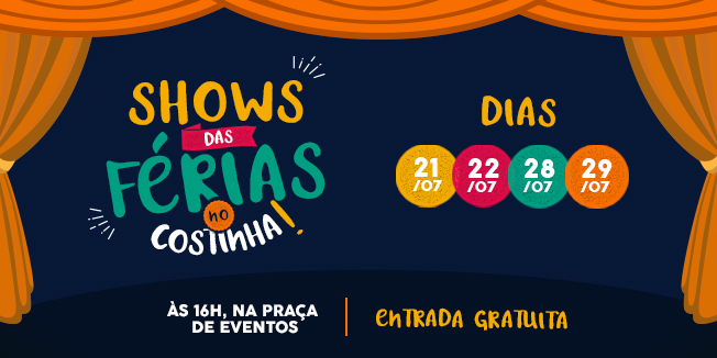 SHOW DAS FÉRIAS do Costinha